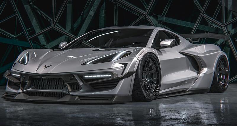 下一代C8 Corvette的中置引擎布局已彻底改变了美国最受欢迎的跑车的风格
