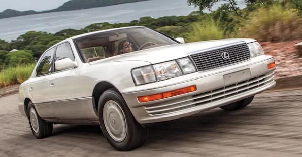 我们驾驶最重要的经典雷克萨斯车型