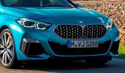 满载的宝马2系Gran Coupe的成本高于3系