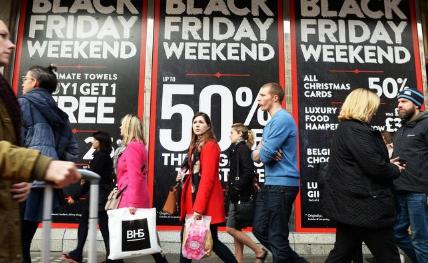 黑色星期五助推十一月零售业激增