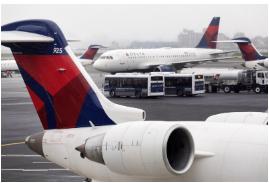 达美航空的旧飞机帮助了强劲的季度 但引发了对气候的担忧