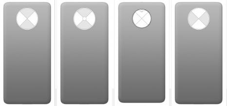 OnePlus设计专利显示带有旋转盖的隐藏式摄像机