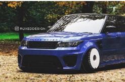 路虎揽胜运动版SVR Stance Boy 是Hellaflush SUV