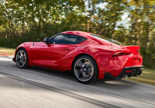2021年丰田Supra增加了255马力的涡轮增压四涡轮增压发动机和直列6发动机