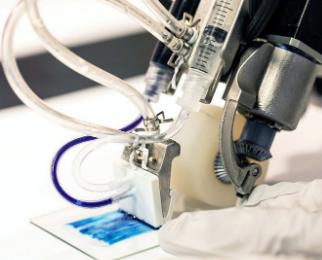 科学家创造了一种可以治疗皮肤严重灼伤的手持打印机