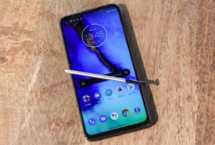 Moto G触控笔会像三星Galaxy Note 10一样吗