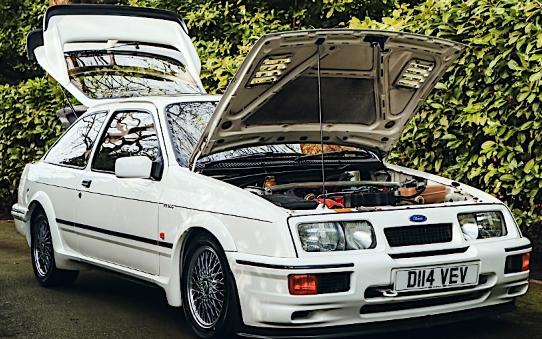 1987年福特Sierra RS500 Cosworth开发原型被抢占