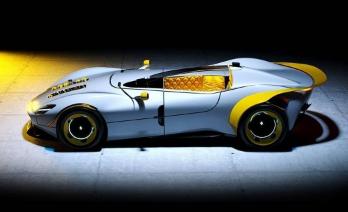 法拉利F355半身和渲染效果改变了您观看超级跑车的方式