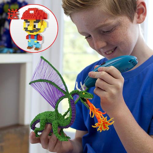 3Doodler的最新套件可让学龄前儿童3D打印的小玩具
