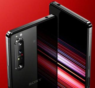 索尼Xperia 1 II e 6.5英寸4K HDR三镜头智能手机与高通Snapdragon 865处理器