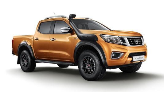 日产汽车发布了面向欧洲市场Navara Off-Roader AT32的最新版本