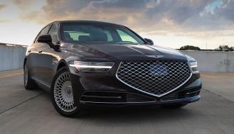 2020年创世纪G90是市场上最有价值的全尺寸豪华轿车之一