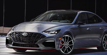 2020年现代Sonata配备180马力的1.6升涡轮增压四缸发动机