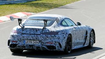 有人以50000美元的价格出售梅赛德斯AMG GT黑色系列