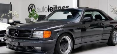 这款1989年梅赛德斯560 SEC AMG 6.0宽体的价格比新AMG GT-R高