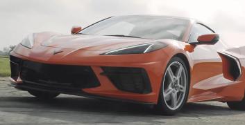 Twin-Turbo C8 Corvette的涡轮可以运转并释放出惊人的动力