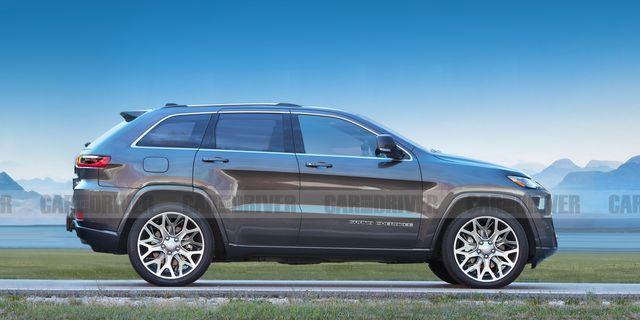 吉普车正在为今年上市的下一代大切诺基做准备