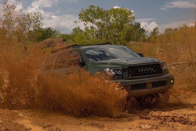 丰田的SUV配备了可选的TRD Pro升级版  带来了增强的越野能力
