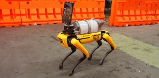波士顿动力开源医疗机器人技术套件 用于远程医疗与生命体征检查和消毒