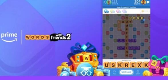 Zynga与亚马逊合作提供填字游戏中的Prime折扣