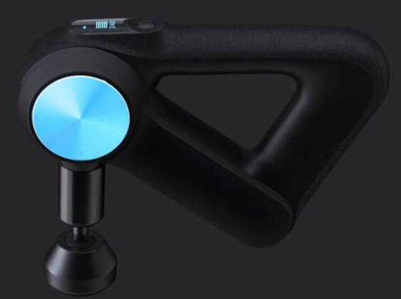 Theragun的新型按摩设备具有蓝牙功能运行更安静