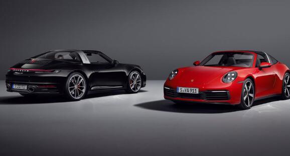 2020年保时捷911系列增加了两辆新的Targas