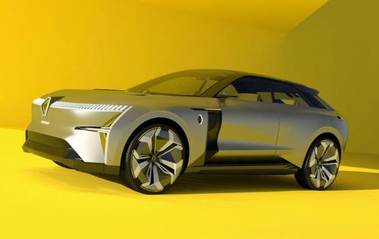 到2022年将推出一对电动雷诺SUV
