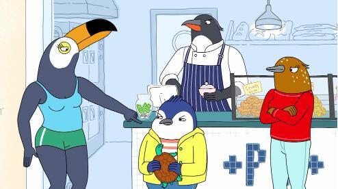 Netflix最受欢迎的动画系列Tuca&Bertie在成人游泳中重获新生