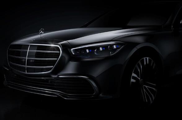 梅赛德斯-奔驰揭示了新S级轿车的第一个官方形象