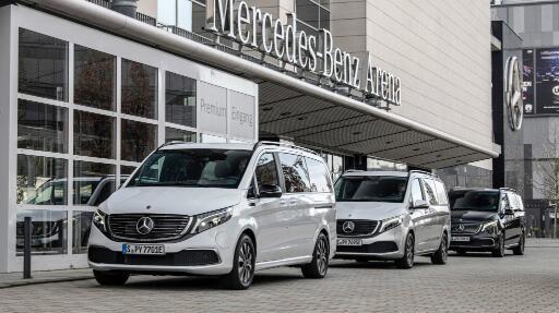 梅赛德斯·奔驰开始销售其全电动EQV厢式货车