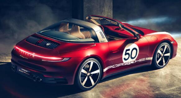 保时捷911 Targa 4S Heritage Design量身定制
