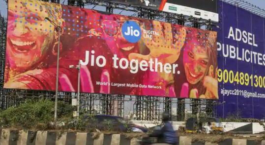 在当前局势期间投资者将赌注押在印度Jio和它的巨杀手剧本上