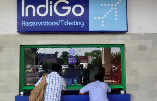 尽管三月份季度损失了871千卢比 但IndiGo仍飙升了12%以上