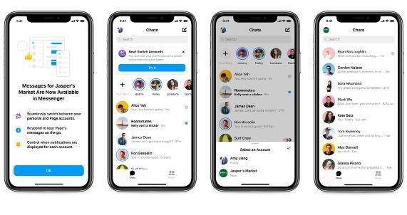 Facebook上的企业现在可以在Messenger中响应客户
