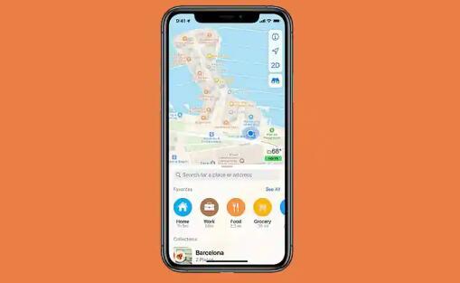 苹果地图距离谷歌地图越来越近 在印度推出了'附近'功能