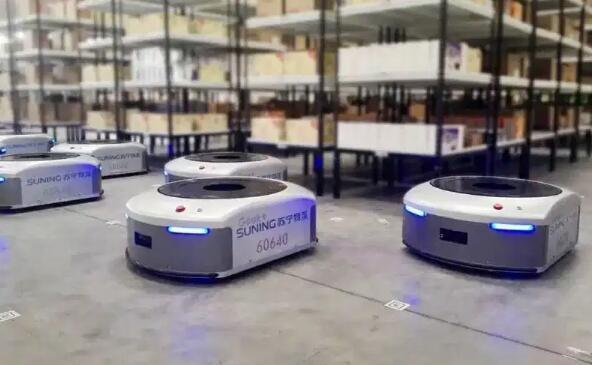 Geek+融资5000万美元 将自动仓库机器人带到美国