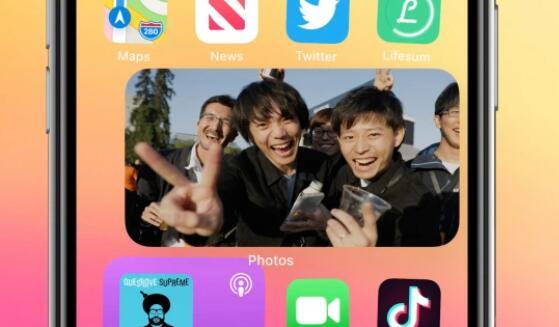 Apple推出适用于iPhone的iOS 14 增加了小部件和应用程序库