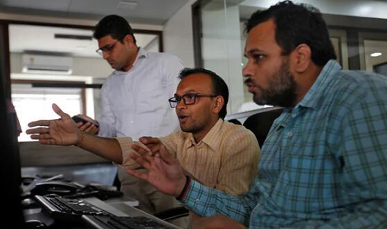 在银行的带领下Sensex和Nifty飙升至逾3个月高点