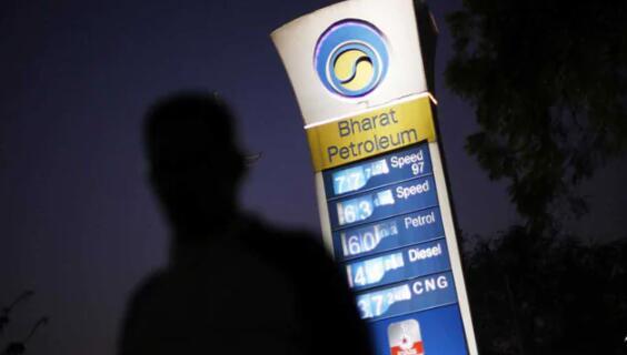 在德里柴油价格连续第四天高于汽油