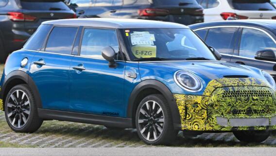 小改款Mini可能会获得插电式混合动力Cooper S变体