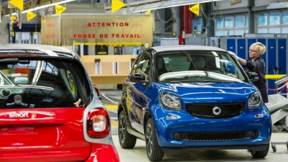梅赛德斯-奔驰在法国出售智能工厂