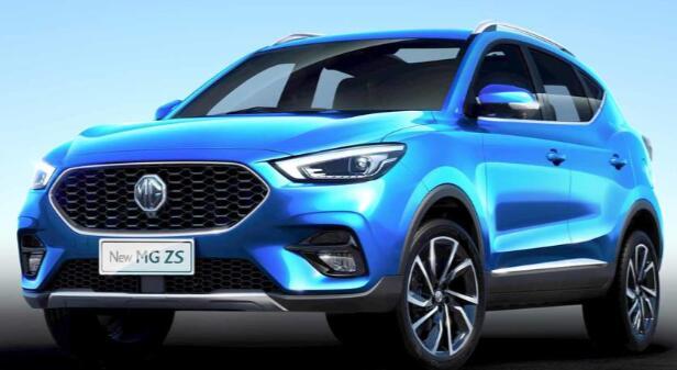 MG汽车2020新款ZS获得重新设计和质量提升