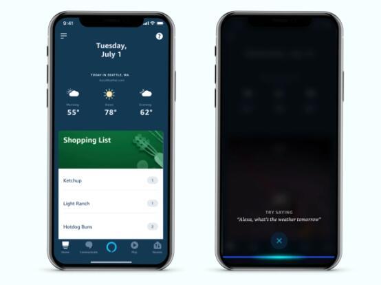亚马逊在其Alexa移动应用程序中添加了免提Alexa