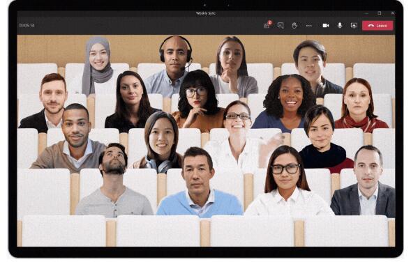微软通过其新的相互模式减少了Teams视频会议的疲劳
