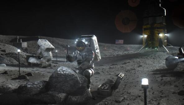 NASA向阿耳特弥斯抱负的四家小型公司注资1,700万美元