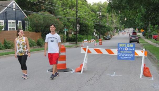 奥斯汀运输公司宣布计划新建三条健康街 以实现安全主动出行