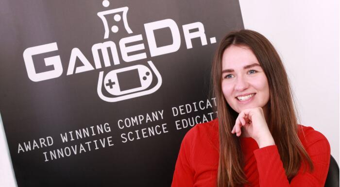 科学游戏企业家卡拉·布朗的一天