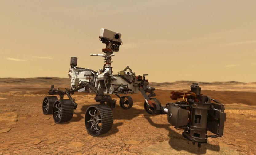 美国宇航局的火星2020漫游者和直升机即将准备发射