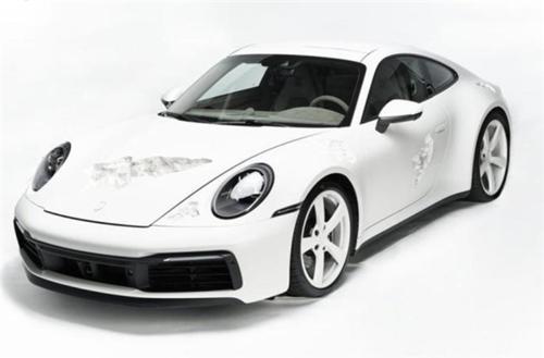 保时捷911结晶腐蚀版:新车全球仅此一台已发布