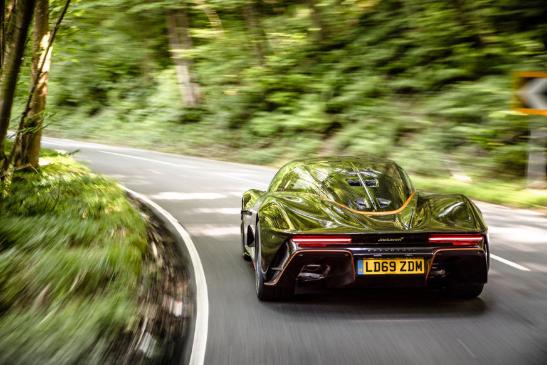迈凯轮Speedtail 2020英国评论
